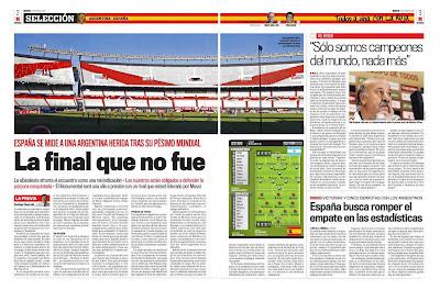 Tinta deportiva la previa de argentina espa a en los for Paginas de espectaculos argentina