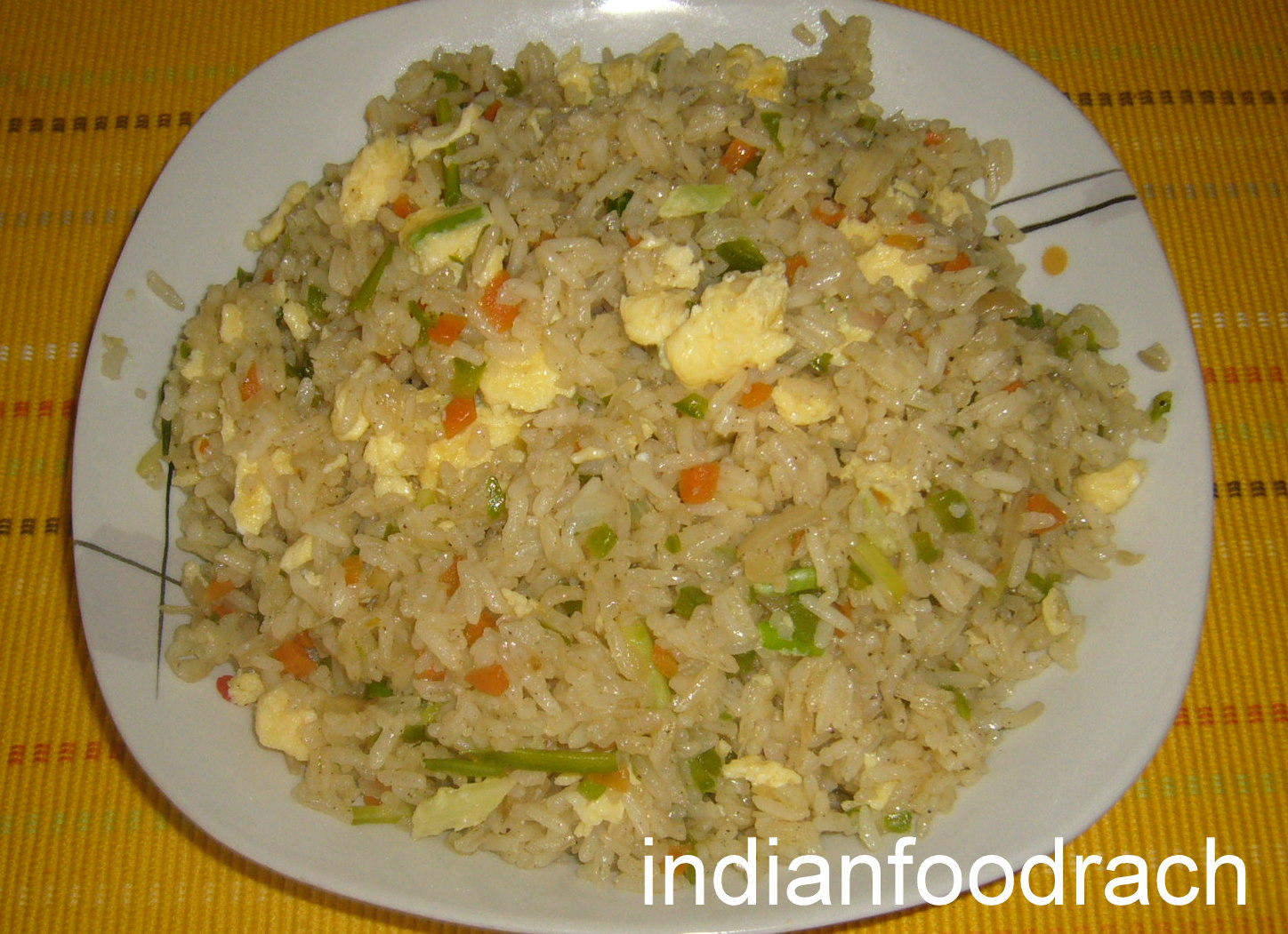 INDIAN FOOD: Egg fried rice