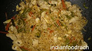 INDIAN FOOD: Stir fried noodles