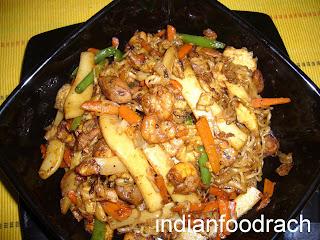 Indian Stir Fried Noodles Recipes — Dishmaps
