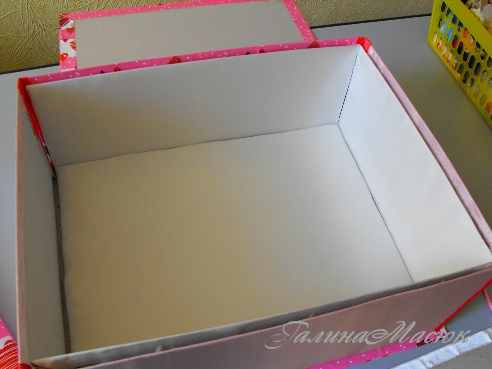 Как сделать из обычной коробки сделать шкатулку