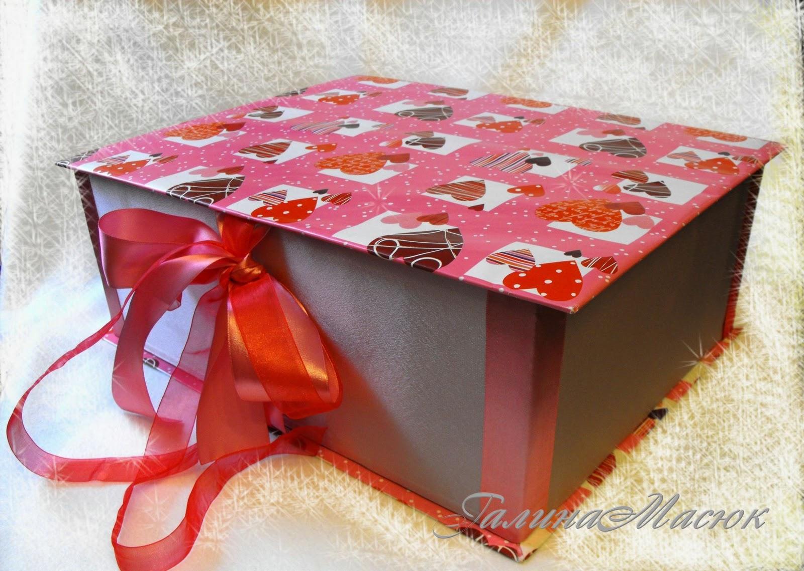 Упаковочная коробка для украшений канзаши своими руками