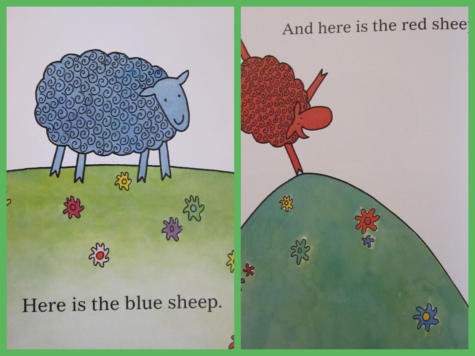 WHERE IS THE GREEN SHEEP? « \