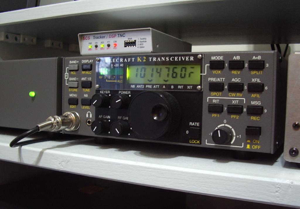 ... has been the acquisition of an SCS Tracker / DSP TNC for HF APRS packet.