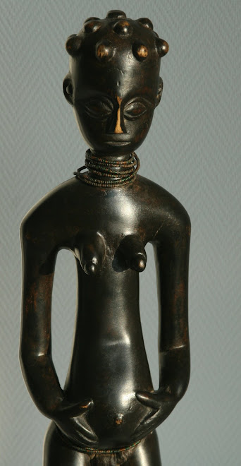 Statue Agni detail