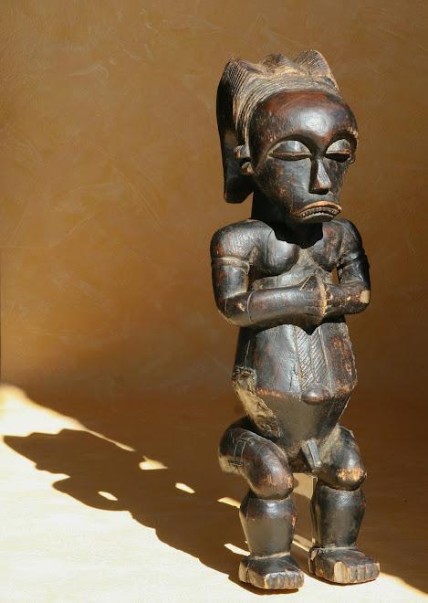 Statue Fang de type mvai