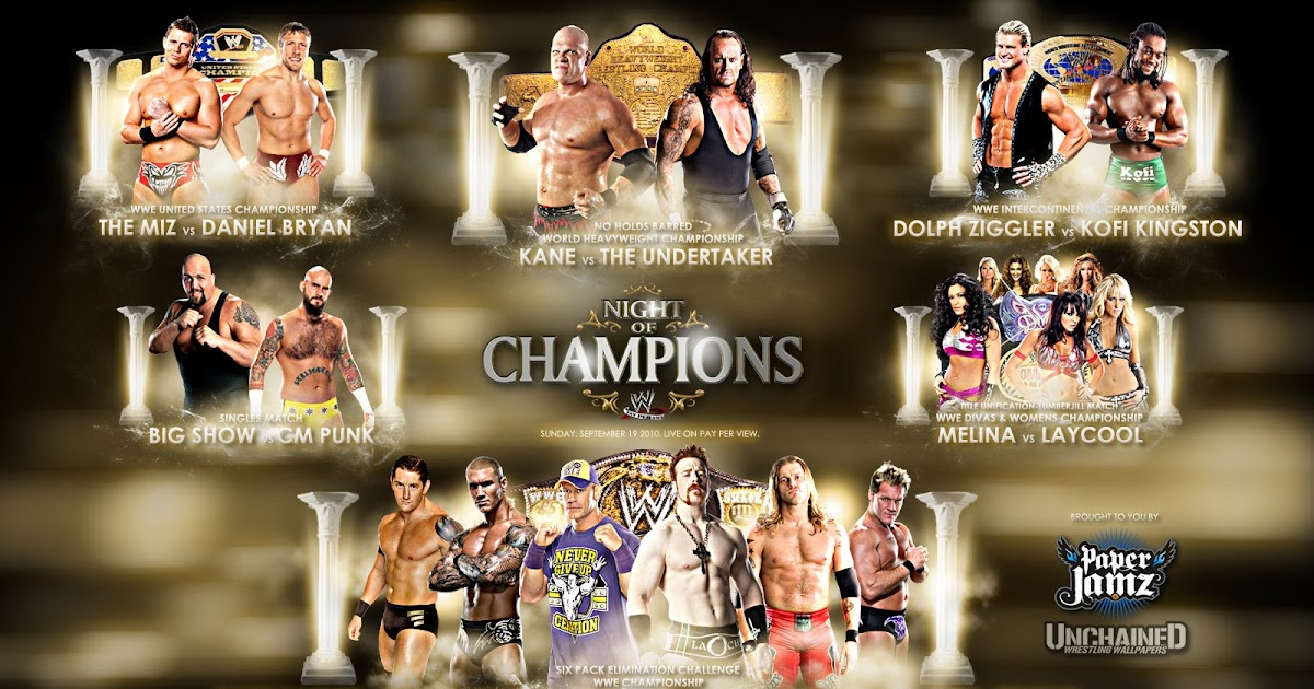 Pizzabodyslam wwe ppv prediction game night of champions - Night of champions 2010 match card ...