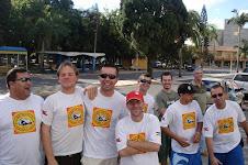 ALGUNS SOCIOS DO CLUBE DO FUSCA DE ARARANGUÁ/SC