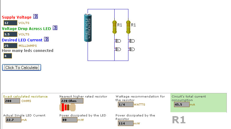 How to calculate a resistor