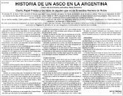Clic en la imagen para ampliar. El embajador argentino en los Estados Unidos . historia de un asco en la argentina
