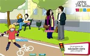 Web de la fundación Abertis que desarrolla todo un programa de educación viaria.