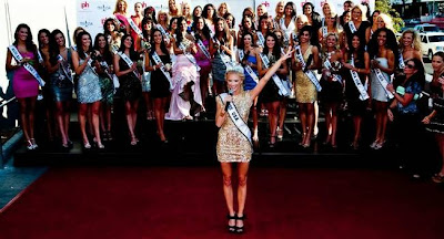 US Pageant hopeful welcome at Planet Hollywood