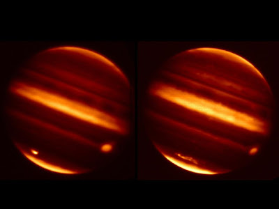 Jupiter Scar in Infrared