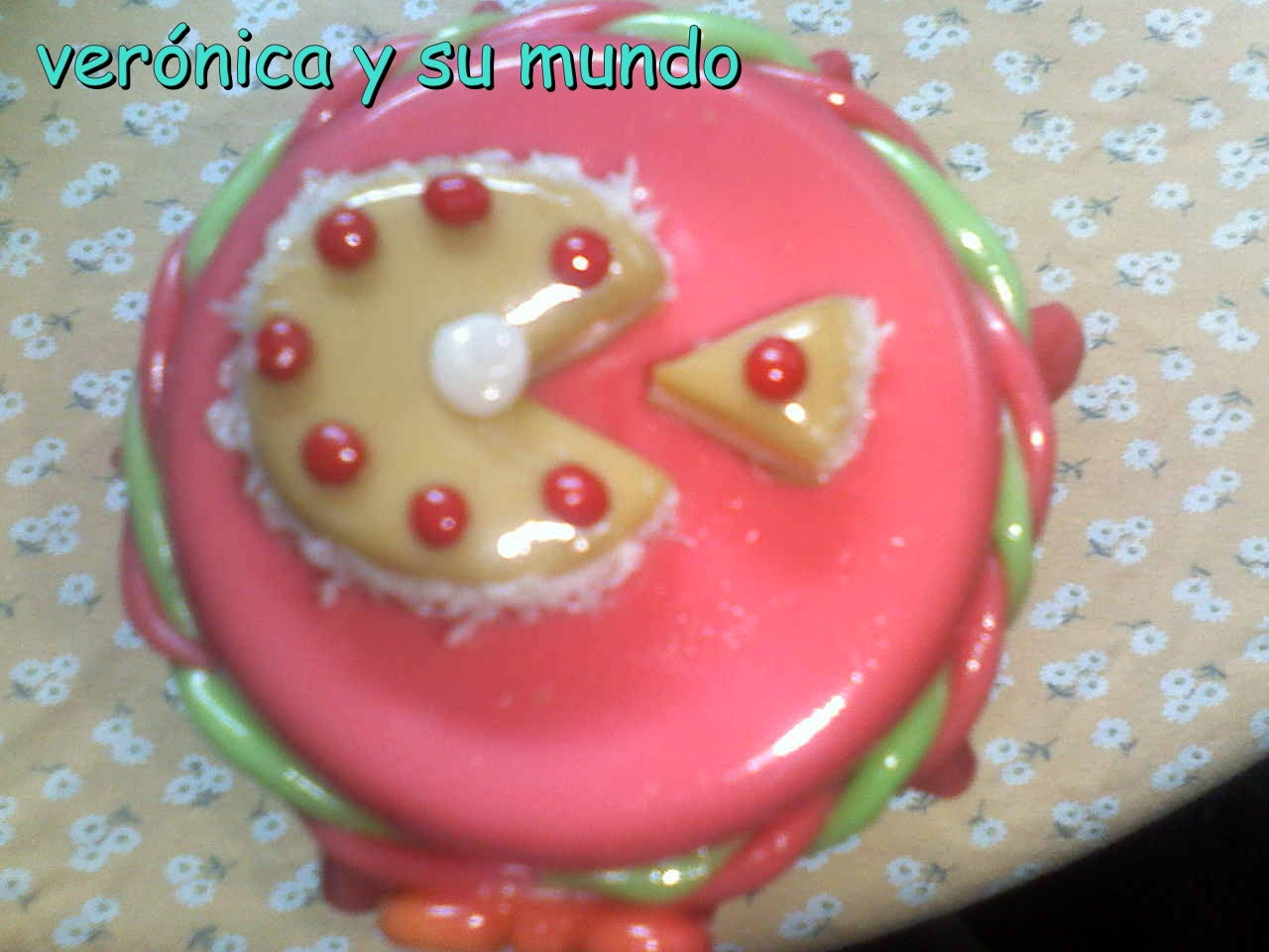 Frascos Decorados Con Mini Tortas
