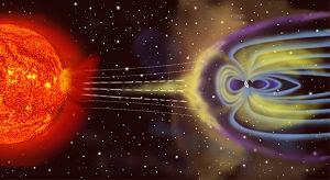 tormenta solar-magnetosfera