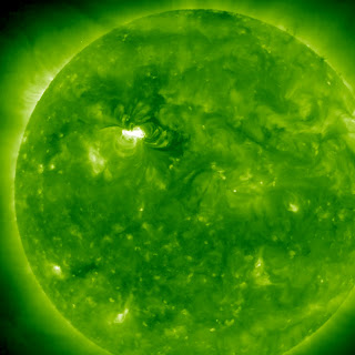 tormenta solar y eyeccion de masa coronal