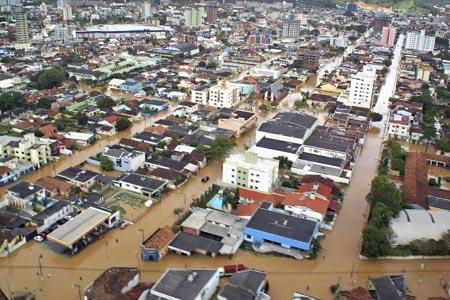 inundaciones brasil