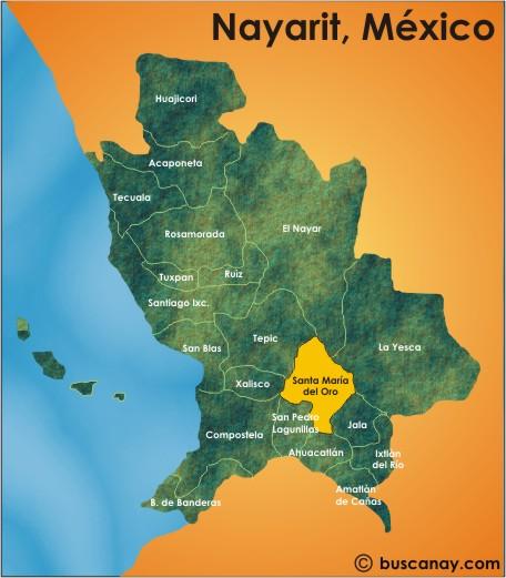 Localidades de Nayarit. [ Fotos Propias ]