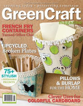 I was published in Somerset Studio's GreenCraft magazine
