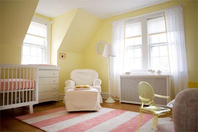 Hudson Baby Design Nursery Of The Week Lemon Sorbet