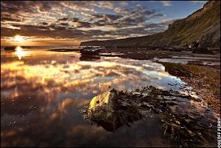 Kettleness Beach by Geoff Perry