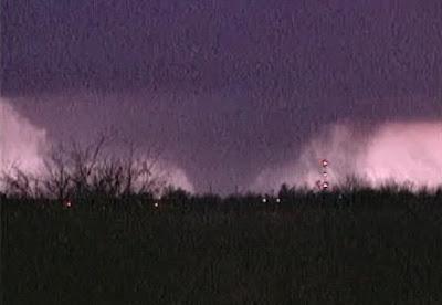 Lone Grove OK Tornado Funnel