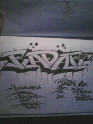 graffiti murals, graffiti sketch