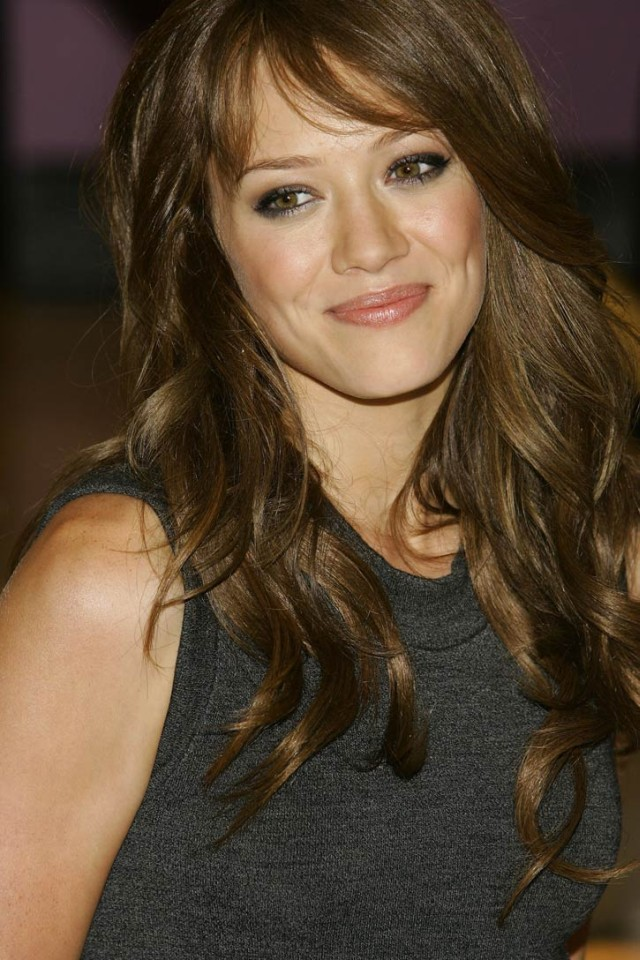 Light brown hair color. The majority of the population of the United States
