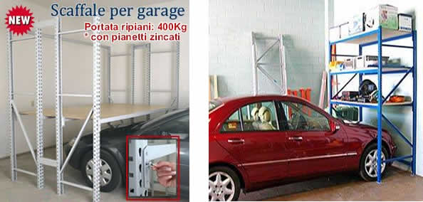 Tuttoscaffali it scaffalature industriali arredi for 4 box auto con soppalco
