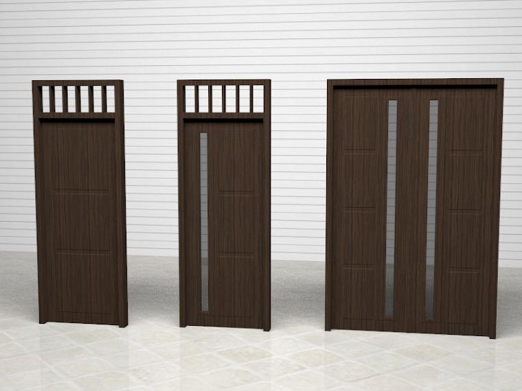 Set Pintu