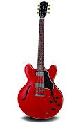 La guitarra Gibson ES335 Dot Reissue es una gran guitarra de semicaja, .