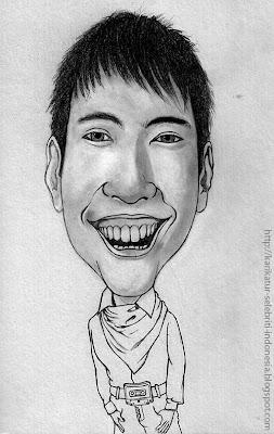 Vidi Aldiano - Karikatur Selebriti Indonesia