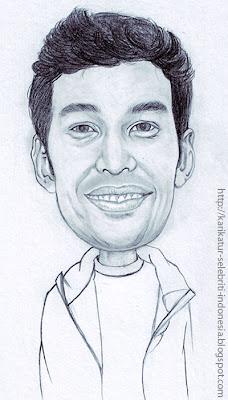 Teuku Wisnu - Karikatur Selebriti Indonesia