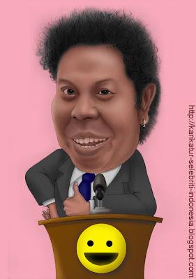 Budi Anduk - Karikatur Selebriti Indonesia