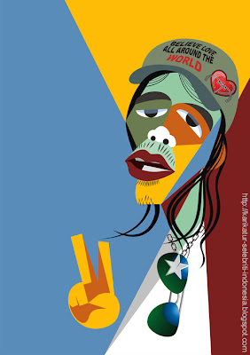 Bimbim Slank - Karikatur Selebriti Indonesia
