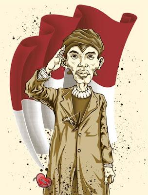 Jenderal Sudirman - Karikatur Selebriti Indonesia