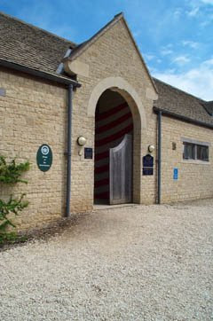 Sulgrave Manor entrance