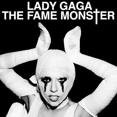 lady gaga fame monster album cover. Lady Gaga - The Fame: Monster