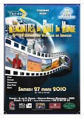 -- Rencontres du Bout du Monde  --         6 ème Festival du voyage en images - Samedi 27 mars