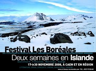 Samedi 22 et dimanche 23 novembre : Littérature d'Islande