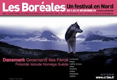 Festival des BOREALES Auditorium du Musée des Beaux Arts 14 et 15 novembre