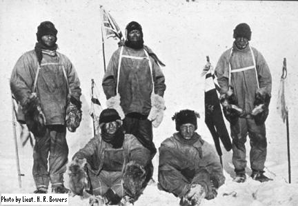 Robert Falcon Scott's South Pole @ 100