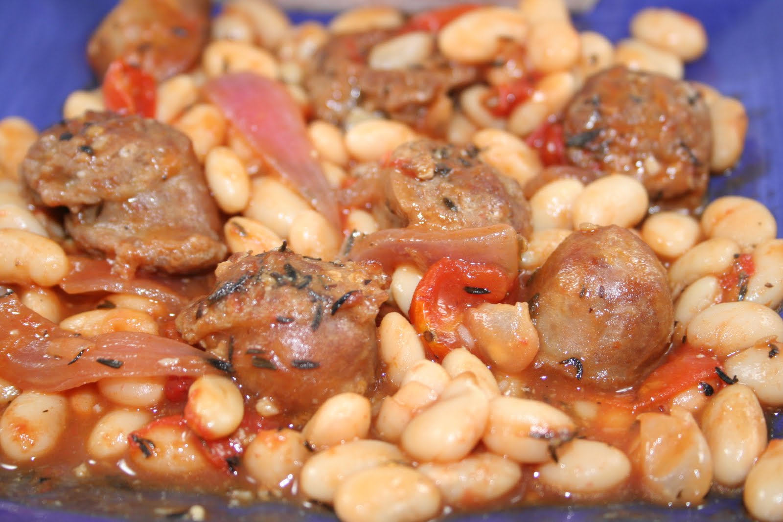 Crostini and Chianti: Easy Cassoulet