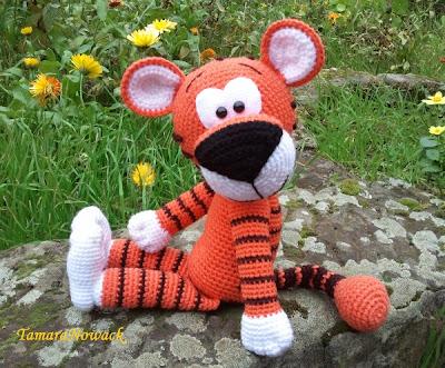 Tigri on Pinterest Tigers, Amigurumi and Crochet Patterns