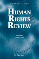 International sex trafficking journal