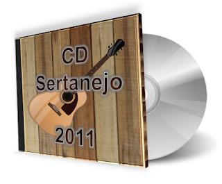 CD Sertanejo 2011 As Melhores - Lançamentos