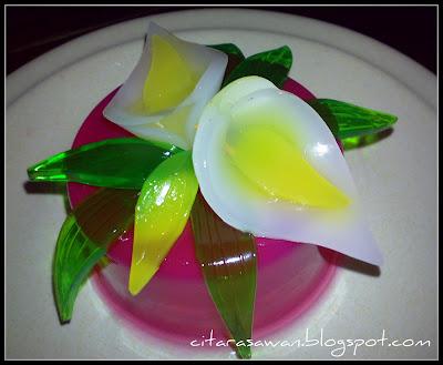 Bunga Dari Agar-Agar