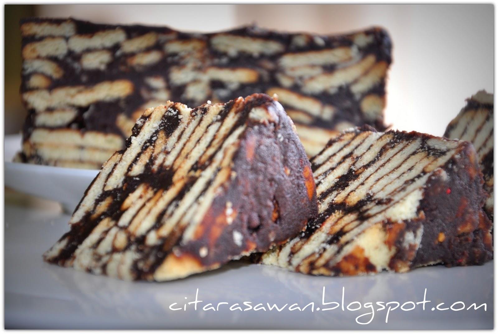 kek batik biskut marie bahan bahan 1 paket biskut marie 300gm dipatah