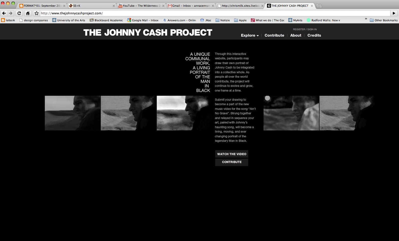 johnny cash project The movie project that was closest to johnny cash's heart, however, was a movie he financed and produced himself in 1973 called gospel road: a story of jesus enamored with the holy land, cash.