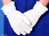 güzel ve zarif eller için eldiven